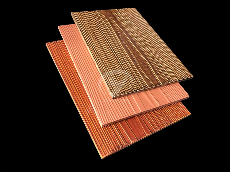 colorful wood grain fiber cement cladding03